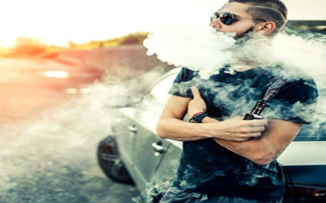 ¡Deje de fumar 👉 Vaping, el nuevo hábito loco!